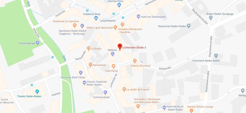 anfahrt maps praxis sandra hoff